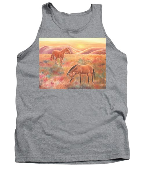Impressions At Sunset Tank Top