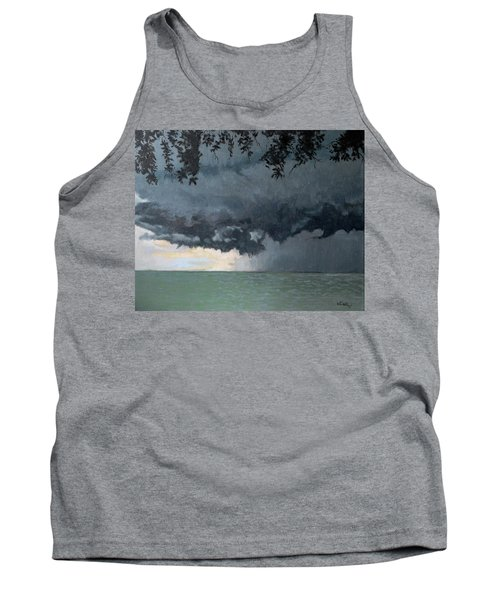 In Coming Storm-epping Forest On The Lake Tank Top