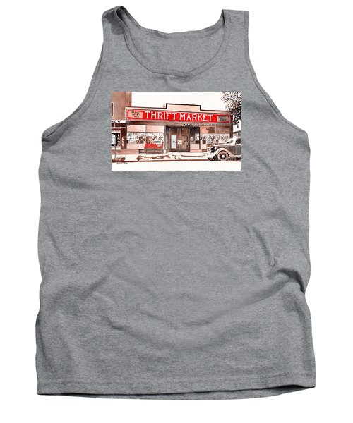 In The Beginning, Meijer, Greenville, Michigan, Old Store Front Tank Top