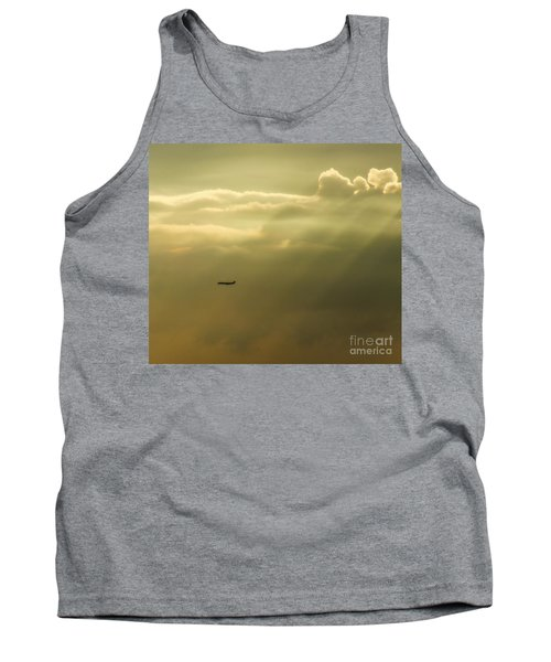 In The Clouds  Tank Top by Christy Ricafrente