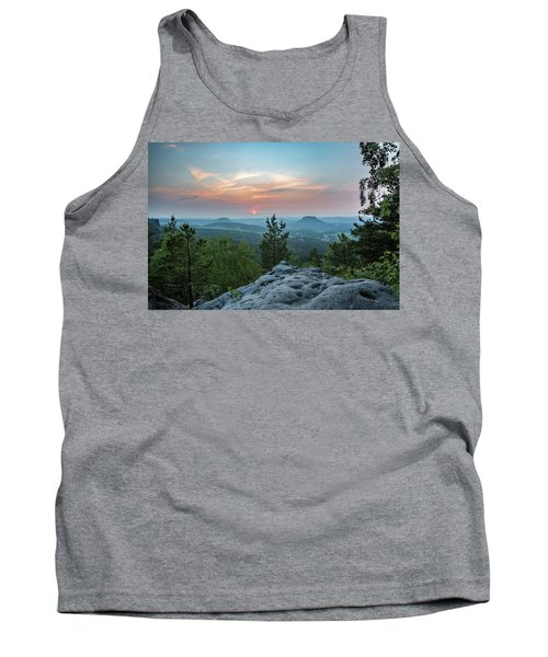 In The Land Of Mesas Tank Top