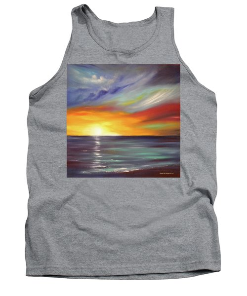 In The Moment Square Sunset Tank Top