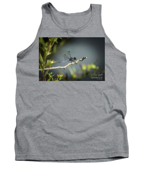 In The Shadows Dragonfly 777 Art Tank Top