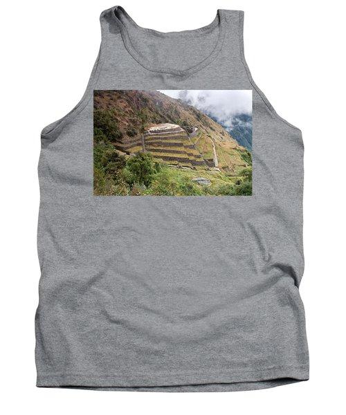 Inca Ruins And Terraces Tank Top