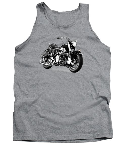 Indian Chief Roadmaster 1953 Tank Top by Mark Rogan