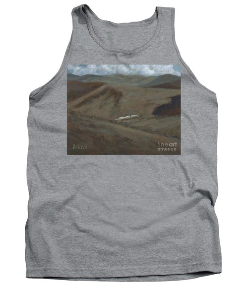 Indian Lodge - A View From The Top Ft. Davis, Tx Tank Top