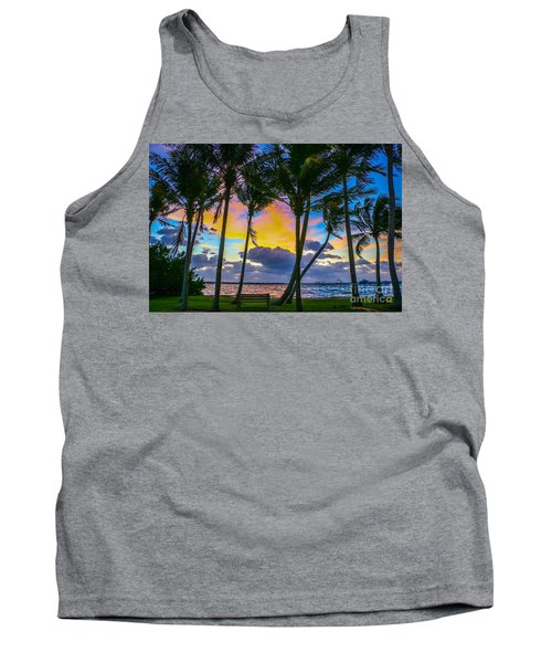 Indian River Sunrise Tank Top by Tom Claud