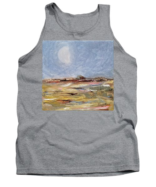 Tank Top featuring the painting Inevitable Epoch by Judith Rhue