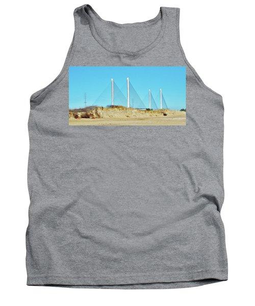 Inlet Bridge Beach View Tank Top