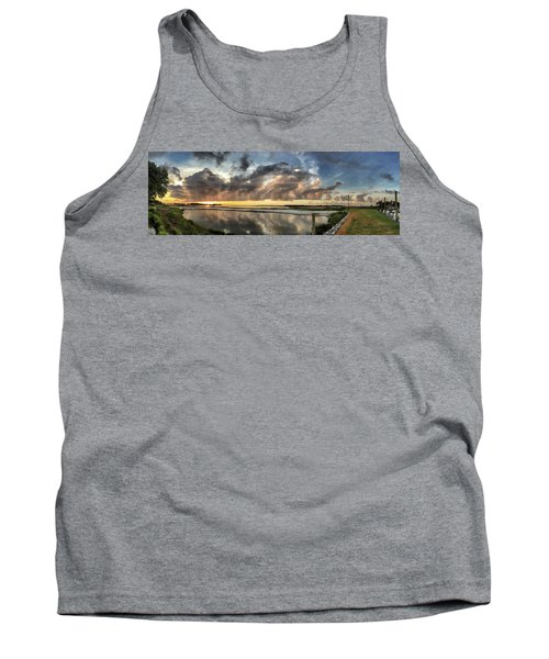 Inlet Sunrise Panorama Tank Top