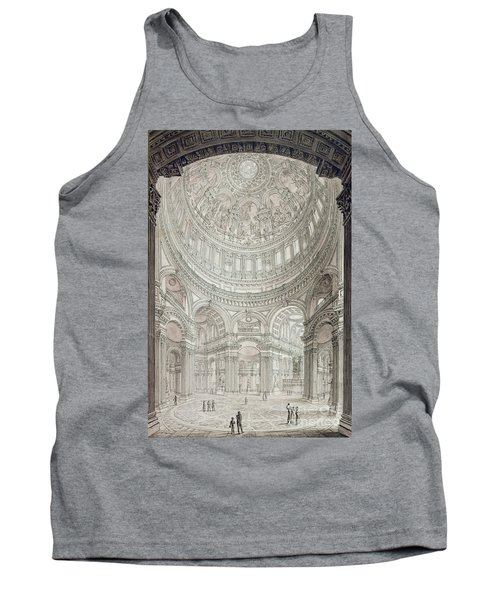 Interior Of Saint Pauls Cathedral Tank Top by John Coney