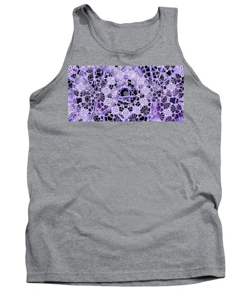 Tank Top featuring the digital art Interwoven by Ron Bissett