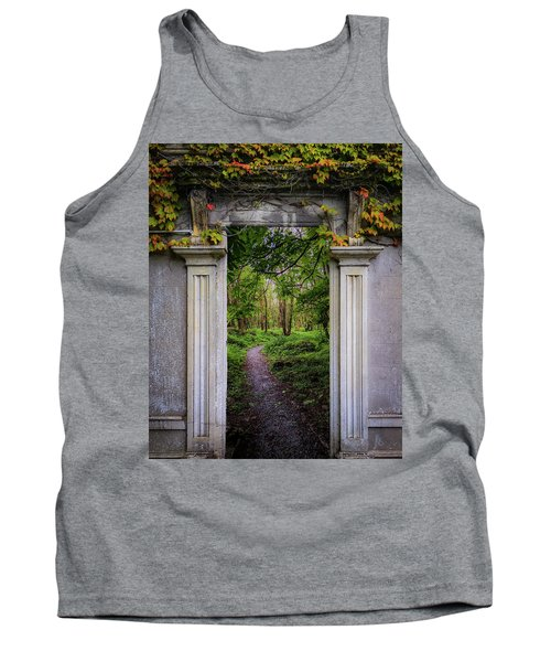 Tank Top featuring the photograph Into The County Galway Countryside by James Truett