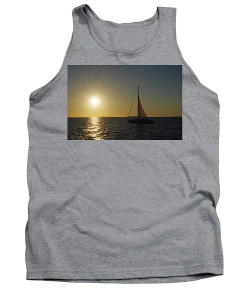 Into The Sun Tank Top by Greg Graham