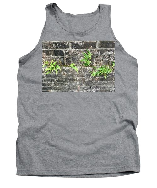 Tank Top featuring the photograph Intrepid Ferns by Kim Nelson