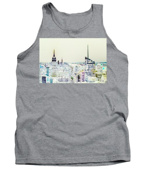 Tank Top featuring the photograph Inversion Layer by Alex Lapidus