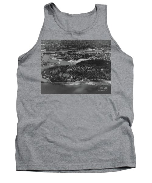 Tank Top featuring the photograph Inwood Hill Park Aerial, 1935 by Cole Thompson