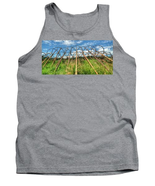 Irrigation Pipes 1 Tank Top by Jerry Sodorff