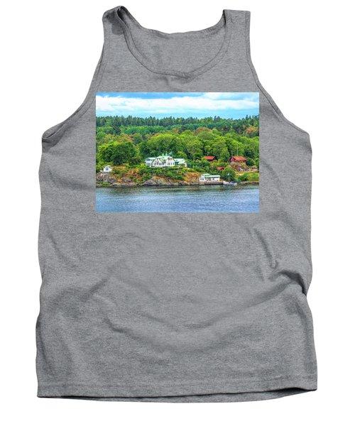 Island Living, Swedish Style Tank Top