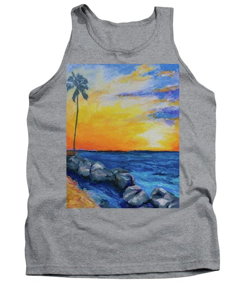 Island Time Tank Top by Stephen Anderson