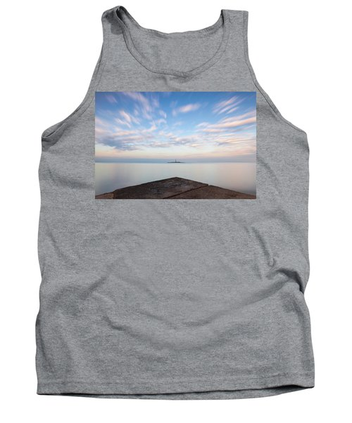 Islet Baraban With Lighthouse Tank Top