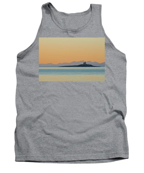 Tank Top featuring the photograph Islet by Davor Zerjav