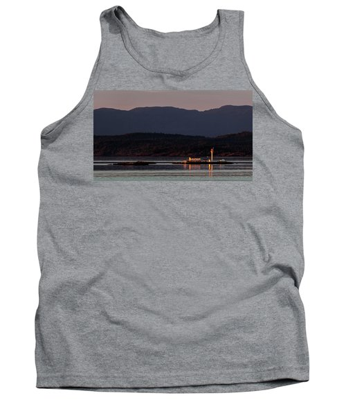 Isolated Lighthouse Tank Top