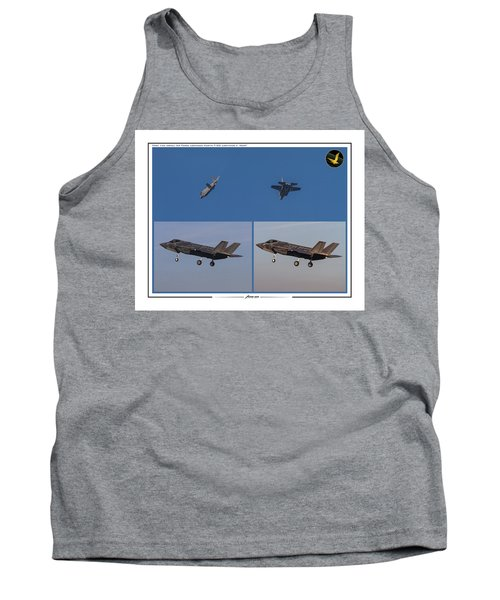 Israeli Air Force First Two F-35i Adir Tank Top