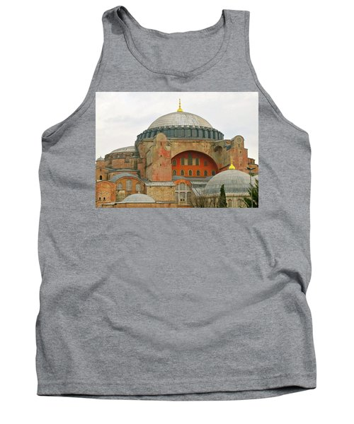 Tank Top featuring the photograph Istanbul Dome by Munir Alawi
