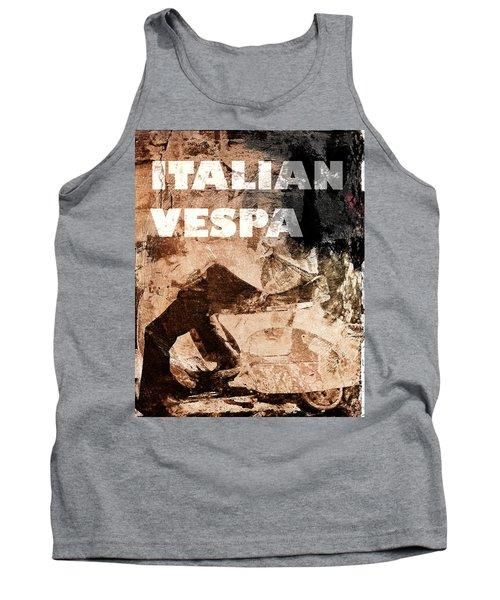 Italian Vespa Tank Top