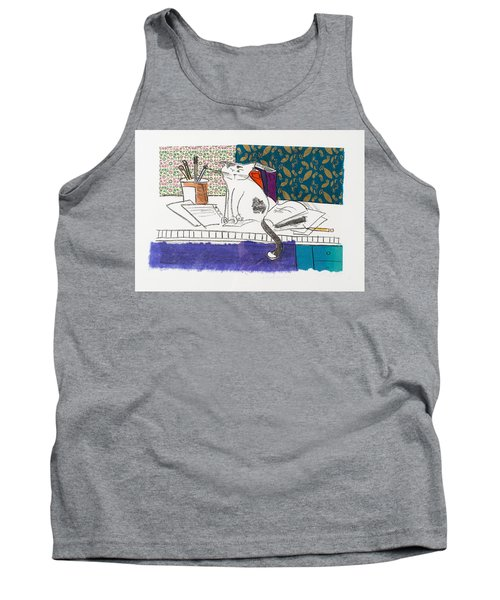 Its All About Me Tank Top by Leela Payne
