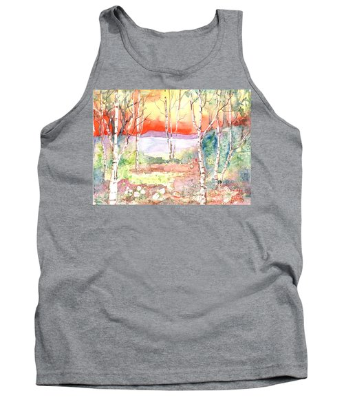 Tank Top featuring the painting Ivan's Eve by Renate Nadi Wesley