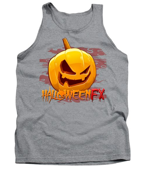 Jack O Lanterns Tank Top by Sheila Mcdonald