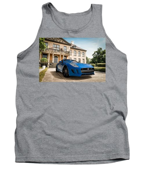 Jaguar F-type - Blue - Villa Tank Top