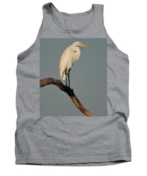 January Egret Tank Top