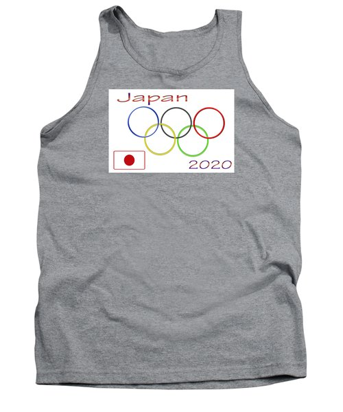 Japan Olympics 2020 Logo 3 Of 3 Tank Top