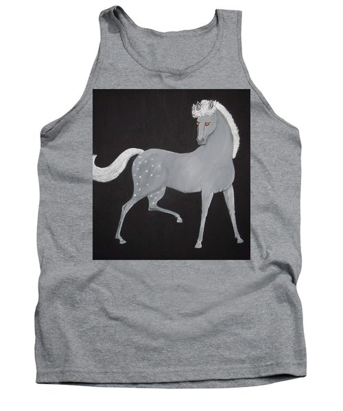 Japanese Horse 2 Tank Top by Stephanie Moore