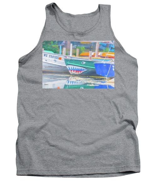 Jaws Tank Top by Pamela Williams
