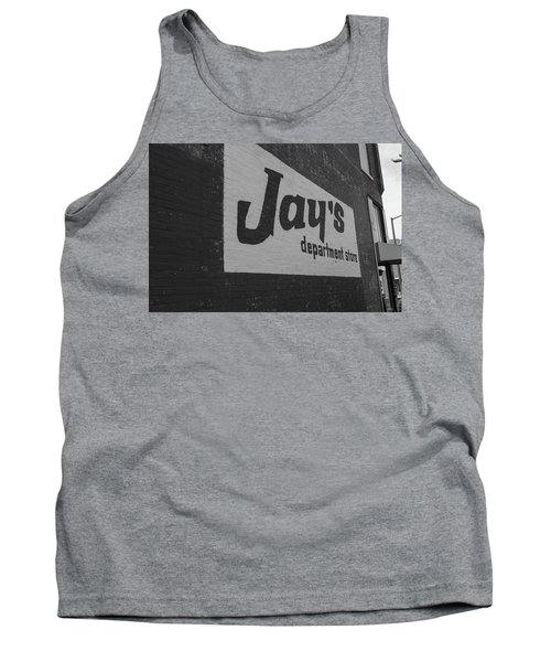 Jay's Department Store In Bw Tank Top