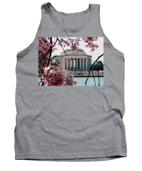 Jefferson Memorial Tank Top