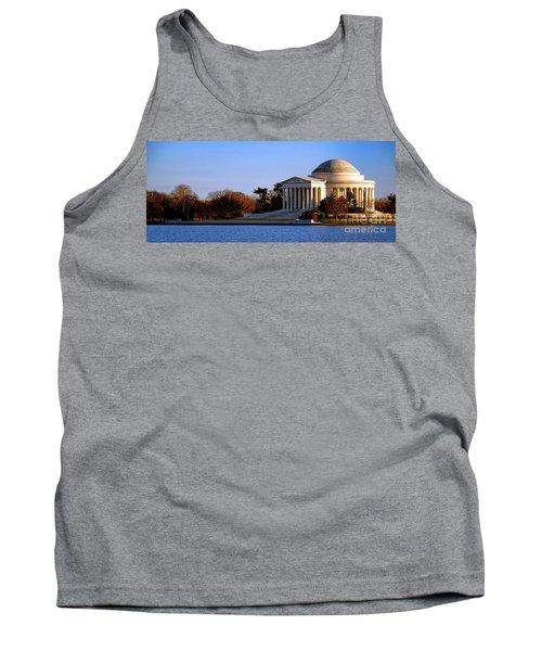 Jefferson Memorial Sunset Tank Top