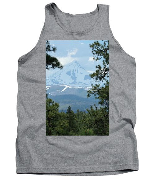 Tank Top featuring the photograph Jefferson Pines by Laddie Halupa
