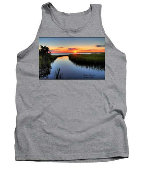 Jeffres Reflections Tank Top