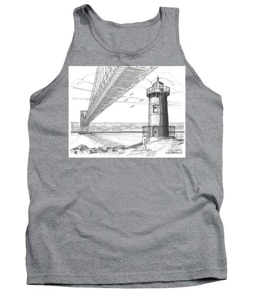 Jeffrey's Hook Lighthouse Tank Top