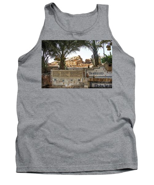 Tank Top featuring the photograph Jerico by Mae Wertz