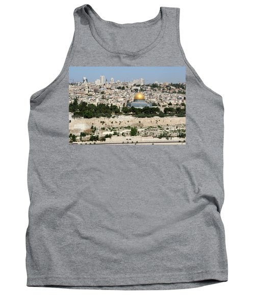 Jerusalem Skyline Tank Top