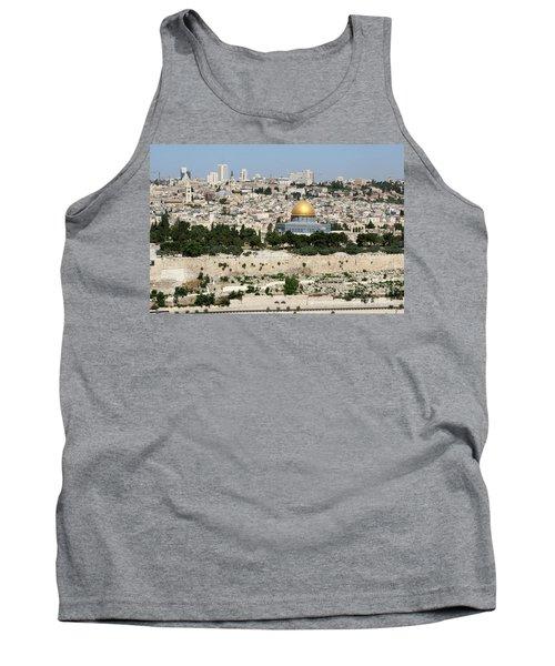 Jerusalem Skyline Tank Top