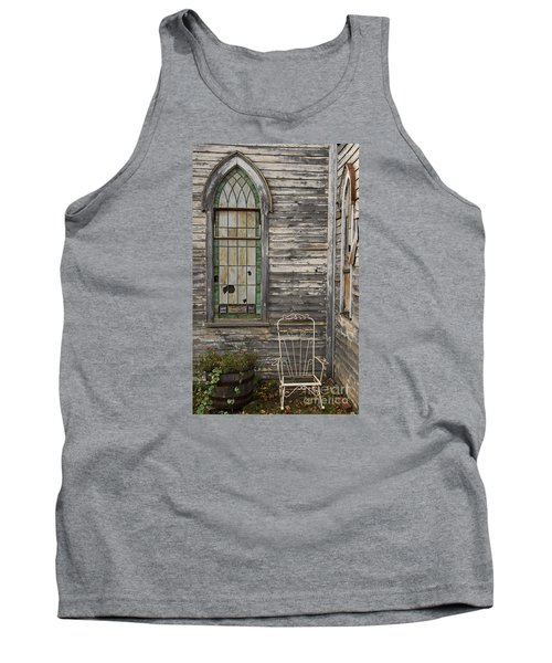 Jesus Has Left The Building Tank Top