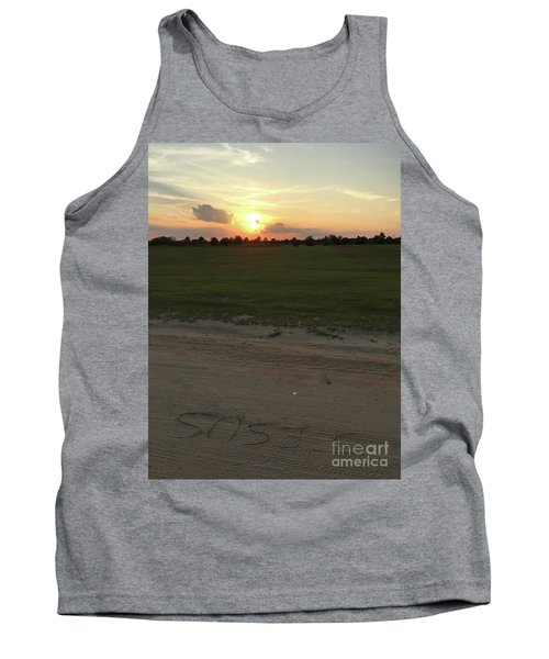 Jesus Healing Sunset Tank Top