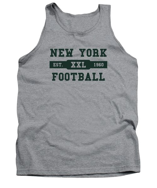Jets Retro Shirt Tank Top